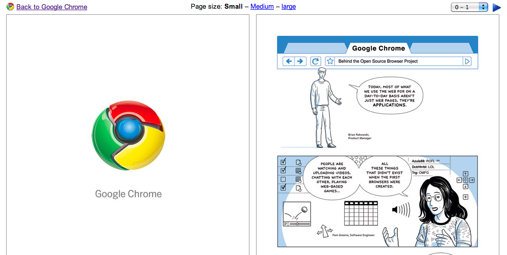 Online book on how cool is Chrome