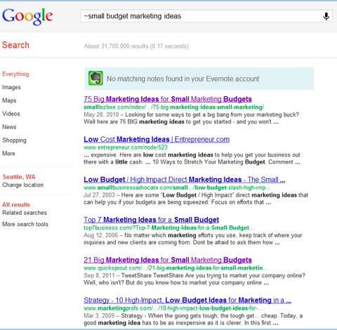 Come cercare sinonimi in Google